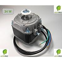 REPUESTOELECTRO- Motor Ventilador pentavalente W 34 Compresor Nevera elettroventilatore