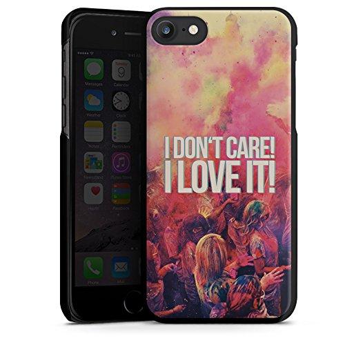 Apple iPhone X Silikon Hülle Case Schutzhülle Party Sprüche Feiern Hard Case schwarz