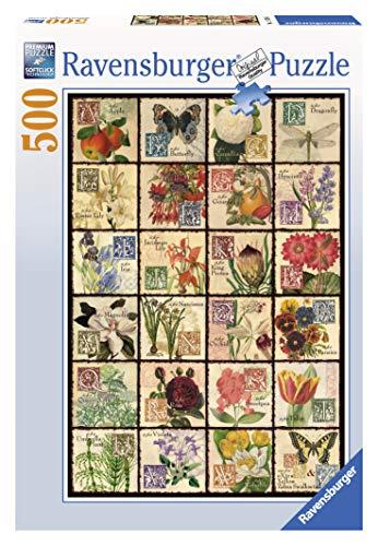 Vintage Flora 500 Piece Puzzle (Vintage Jigsaw Puzzles)