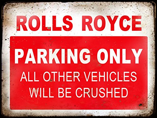 rolls-royce-parking-metal-sign-rustic-retro-vintage-style-8x-6-200-x-150-mm