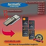 Handsender 433.92 MHz für Tormatic HS43-1E / HS43-2E / HS43-3E / HS43-4E / MHS43-1 Antriebe