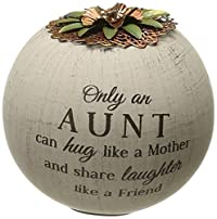 Pavilion Gift Company 19005 Light Your Way Terra Cotta Candle Holder, Aunt, 4-Inch