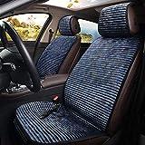 Seasaleshop Auto Sitzkissen Beheizbar Sitzauflage Sitzheizung Warm Up für Auto Zuhause Büro Stuhl Doppelsteckdose für 12V Zigarettenanzünder