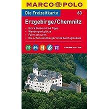 MARCO POLO Freizeitkarte Erzgebirge, Chemnitz 1:100.000 (MARCO POLO Freizeitkarten)