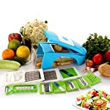 #6: BMS Lifestyle JUMBO Multipurpose Chopper Nicer Slicer Dicer - Vegetable and Fruit Chopper, Slicer, Cutter, Grater, Peeler for salads (Sky Blue,1 Year Warranty)