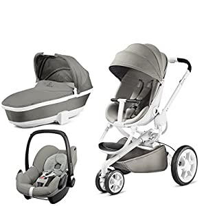 Quinny Moodd with Carrycot Grey Gravel and Pebble Grey Gravel   9