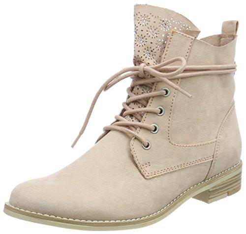 MARCO TOZZI Damen 25105 Combat Boots, Pink (Rose), 36 EU