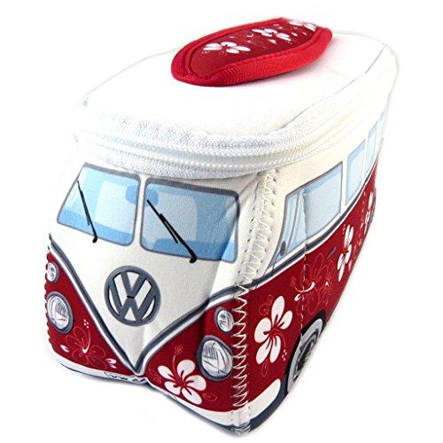 Volkswagen [P1135] - Trousse de toilette 'Volkswagen' rouge blanc - 23x13x7.5 cm