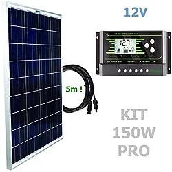 VIASOLAR Kit 150W Pro 12V Panel Solar