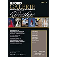 ILFORD GALERIE Prestige Heavyweight Duo Matt 310 GSM A4-210 mm x 297 mm 25 Blatt