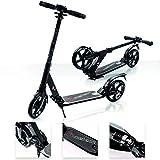 Scooter plegable ruedas grandes 200 mm patinete Niños y Adultos Muy Duradera – hasta 100 kg...