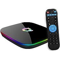 Android TV Box , Q Plus TV Box Android 9.0 with 2Go RAM 16Go ROM H6 Quad Core cortex-A53 Processor Smart TV Box…