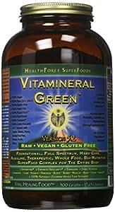 Healthforce Vitamineral Green V 5.2, Powder, 500-Grams.