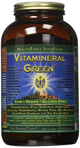 Healthforce Vitamineral Green V5.1, Powder, 500-Grams.