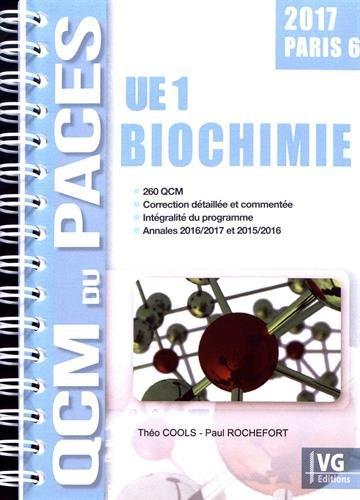 Biochimie UE1 Paris 6