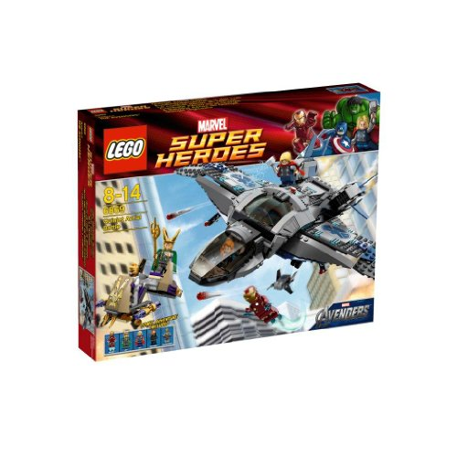 Lego 6869 Superheroes The Avengers Quinjet Aerial Battle