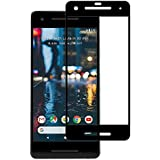 PES 3D Curved Full Screen Tempered Glass Screen Protector For Google Pixel 2 - Black