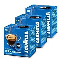 Lavazza A Modo Mio Dek Cremoso Coffee Capsules (3 Packs of 16)