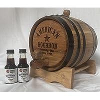 Kit de fabricación de bourbon americano de 2 litros
