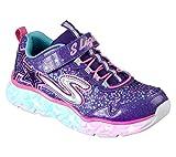 Skechers Mädchen Galaxy Lights Sneaker, Mehrfarbig (Purple/Multicolour), 36 EU