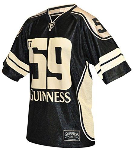 Guinness® American Football Jersey Gr. XXL, schwarz