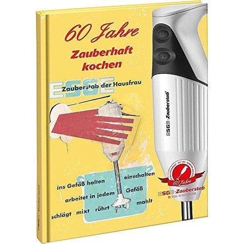 ESGE Jubiläums-Kochbuch Zauberstab, Papier, Gelb, 30 x 15 x 15 cm (Rezepte Und Erinnerungen Kochbuch)