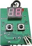 Yeeco DC 12V 0-99 ° C Heizung Kühlung Verzögerungseinstellung Digital Thermostat Temperaturregler Temperaturregelung Temp Thermometer + NTC (10K 0,5%) Wasserdichter Sensor