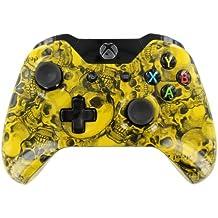 """Yellow Bone Skulls "" Xbox ONE Custom UN-MODDED Controller Exclusive Design"