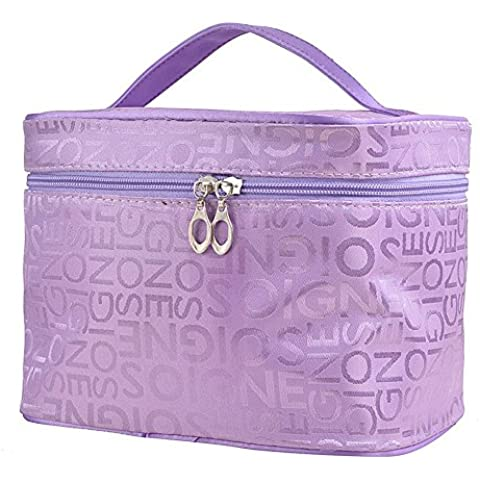 Drasawee Donna Ecopelle Cosmetic Pouch Case trucco