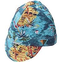 Vosarea Sombrero de Soldadura Soldadores de Soldadura Retardante de Llama Gorra Protectora de Soldadura (Patrón