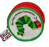 Very Hungry Caterpillar Purse, Caterpillar Picture, Zipped, Red, round