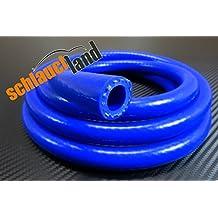 POSSBAY 45/°Auto Silikon Schlauch 60-70mm Innendurchmesser Silikonschlauch Blau