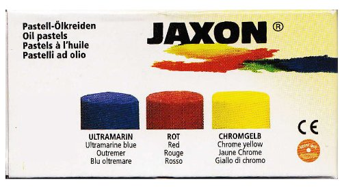 Jaxon Ölpastellkreiden Mini-Set, 3 x 1 Stift Pack