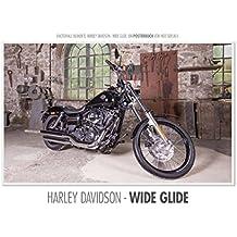Emotionale Momente: Harley Davidson - Wide Glide. (Posterbuch DIN A2 quer): Die Harley Davidson - Wide Glide ist die Traummaschine für den Cruiser. ... [Taschenbuch] [Sep 07, 2013] Gerlach, Ingo