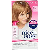 3 x Clairol Nice'n Easy Permanent Colour Blend FOAM 8G Medium Golden Blonde