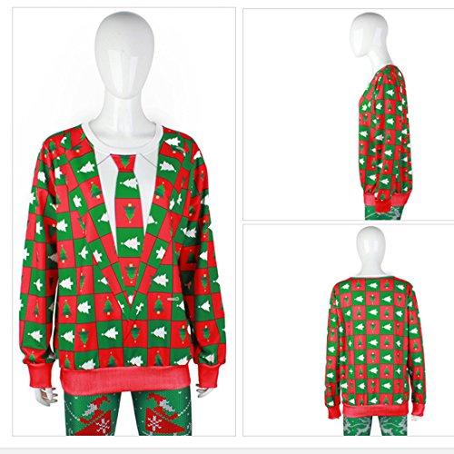 Belsen Damen Sweatshirt schwarz baum XLarge tie Suit tree