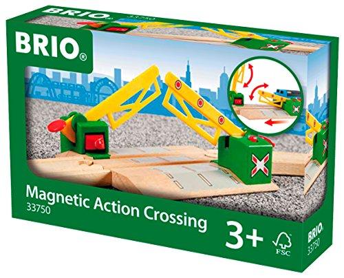 Brio - 33750 - Circuit de train en bois - Passage à Niveau Magnetique