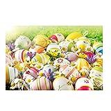 Yivise Semana Santa Día de Pascua Tema Vinilo Fotografía Telón de Fondo Fondo de Foto Personalizado Accesorios(A)