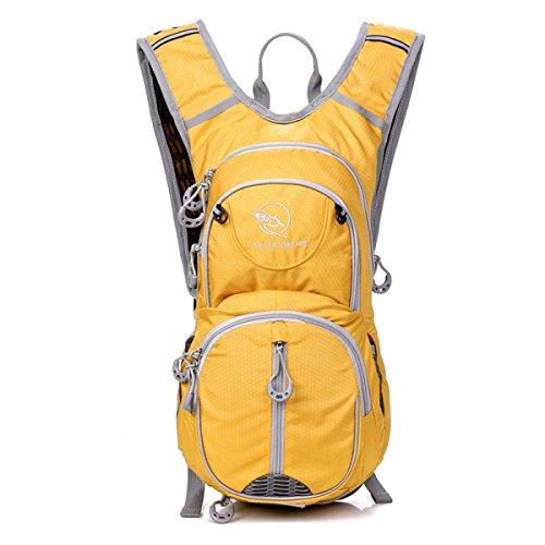 12L Reitrucksack Outdoor Wandern Rucksack Rucksack,SapphireBlue Yellow