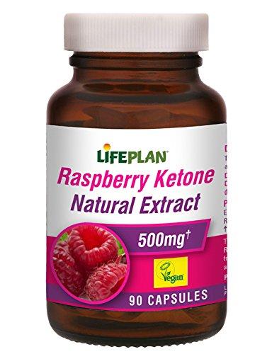 Lifeplan Raspberry Ketone Natural Extract 500mg - 90 Kappen