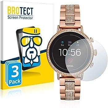 BROTECT Protection Ecran Verre Compatible avec Fossil Q Venture HR (4.Gen) [3 Pièces] - Protecteur Vitre 9H, AirGlass