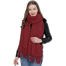 3c9c7673d3d DonDon Grande écharpe d hiver douce pour femme Oversize XXL 190 x ...