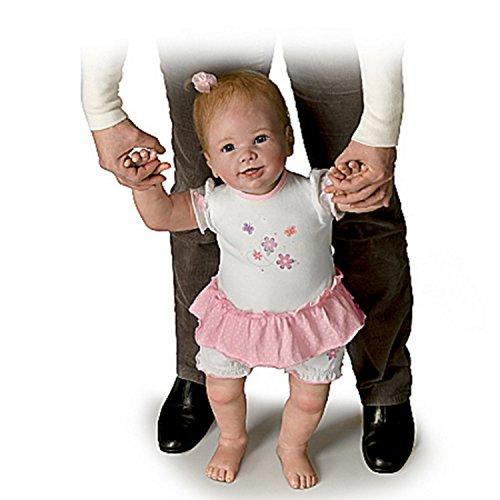Lebensecht Interaktives Walking Baby Puppe von Linda Murray: Isabella \'s erste Schritte