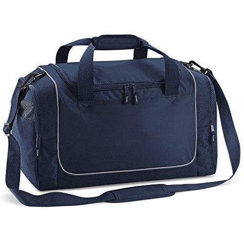 Sporttasche mit Namen und Wunschmotiv Fußballtasche Fitness Reittasche Schwimmtasche (royal blau) marineblau