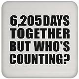 Designsify 17. Geburtstag mit 6,205Together But The Who 's, Hochglanz, ideales Geschenk für Hochzeiten, Verlobung, Jahrestag, Freund, Ehemann, Ehefrau, Freundin