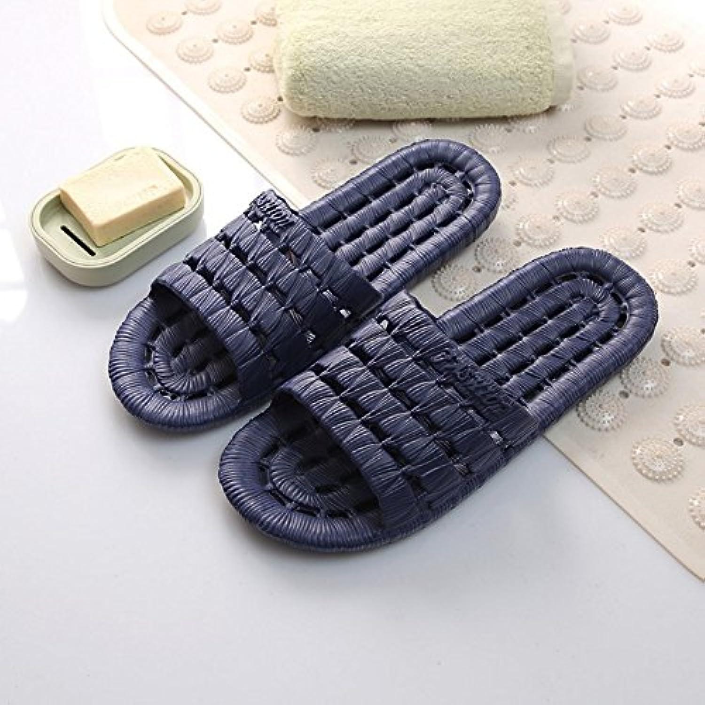 CWJDTXD Zapatillas de verano Zapatillas de espuma de baño femenino verano deslizamiento interior de los hombres...
