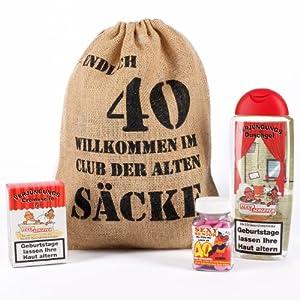 Cera & Toys® Geburtstagsgeschenk Set 40 (4-Teilig)