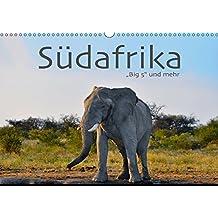 Südafrika - Big 5 und mehr (Wandkalender 2018 DIN A3 quer): Faszinierende Fotos von Büffel, Leopard, Löwe, Nashorn, Elefant und anderen. ... [Kalender] [Apr 07, 2017] Styppa, Robert