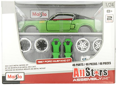 Maisto 1967 Ford Mustang Gt Custom Shop Assembly Line  available at amazon for Rs.3496