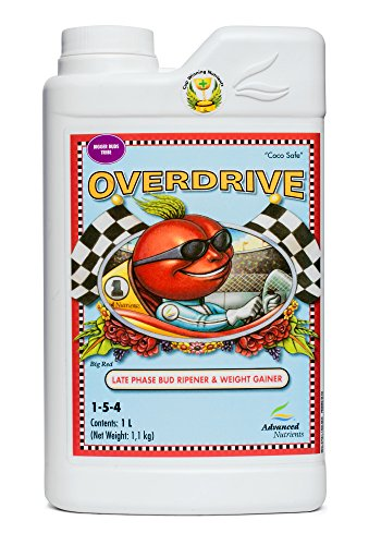 Advanced Nährstoffe Overdrive 1Liter Ultre Premium Liquid Flower Enhancer 1L -
